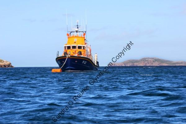 arranmore Island lifeboat August 2012