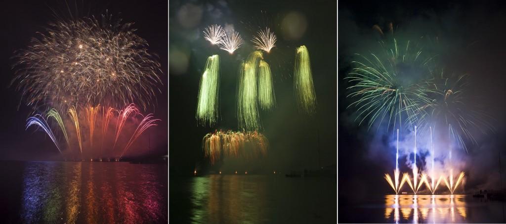 Brno firework festival.