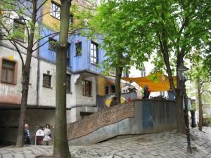 Vienna Hunderwassers architecture