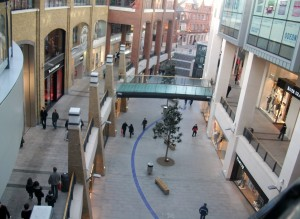 Victoria Square shopping Center Belfast