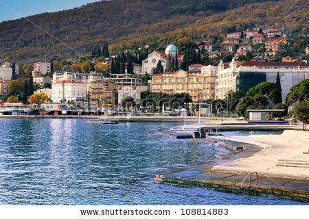 opatija-croatia view-of-mediterranean-town