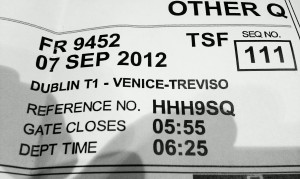 venice train ticket