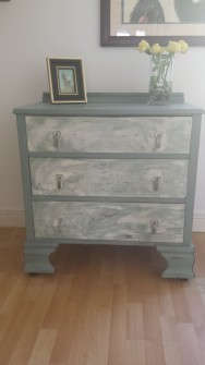 Chalk Paint Up-cycling furniture