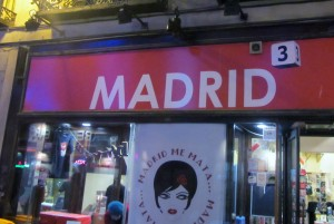 The Secret Madrid pay local prices