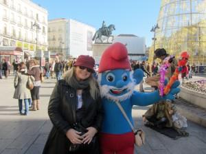 Sandra & Pappa Smurf